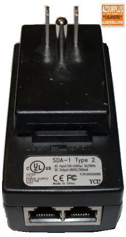 AIRSPAN SDA-1 TYPE 2 ETHERNET ADAPTER 48VDC 500mA