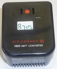 AIR CANADA 0030 1600 watts CONVERTER USED POWER SUPPLY 220-240 T