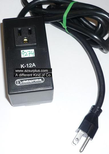 DATAPROBE K-12A 1420001 USED 12Amp SWITCH POWER SUPPLY Brick Di