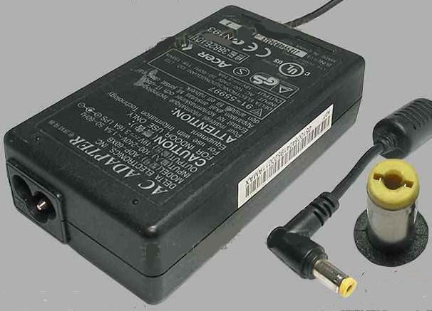DELTA ADP-60XB AC ADAPTER 19VDC 3.16A LAPTOP POWER SUPPLY