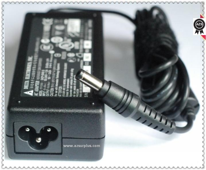 DELTA SADP-65KB B AC ADAPTER 19VDC 3.42A -(+)- 2.5x5.5mm 90°100-