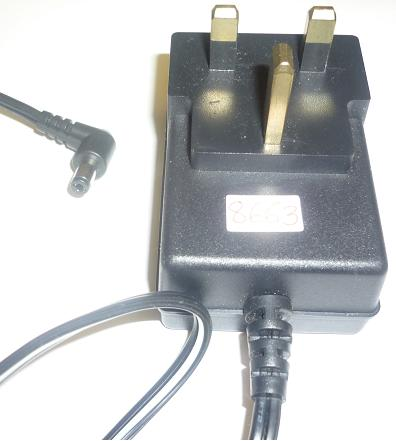 FAIRWAY WN10E-050 U AC ADAPTER +5VDC 2A USED -(+)- 2x5.5mm UK PL