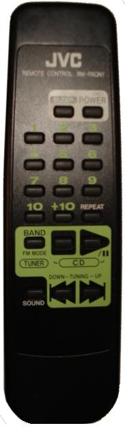 JVC RM-RXQN1 infrared Universal AV Programmable Remote Control