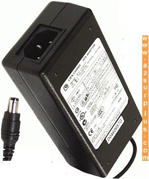 LIEN CHANG LCA01F AC ADAPTER 12VDC 3.3A 40W USED -(+) 2x5.5mm LC