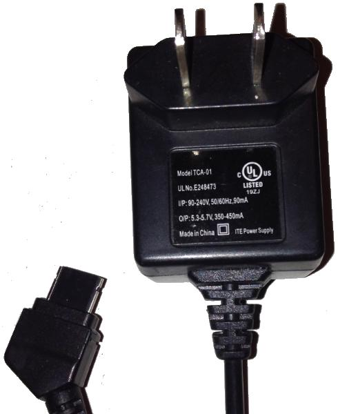 NEXXTECH TCA-01 AC ADAPTER 5.3-5.7V DC 350-450mA Used SPECIAL PH