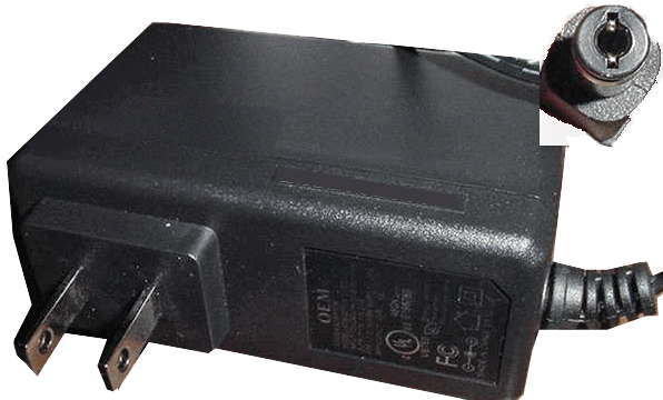 OEM ADS0248-W 120200 AC ADAPTER 12V DC 2A USED -(+)- 2.1x5.5mm