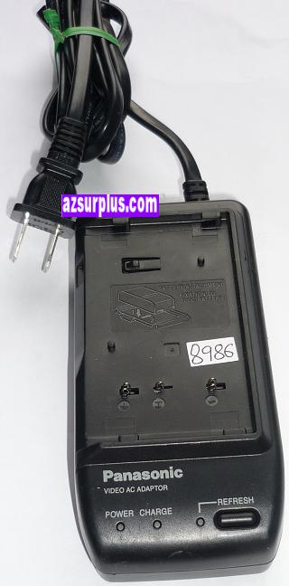PANASONIC PV-A19-K AC ADAPTER 6VDC 1.8A USED BATTERY CHARGER DIG