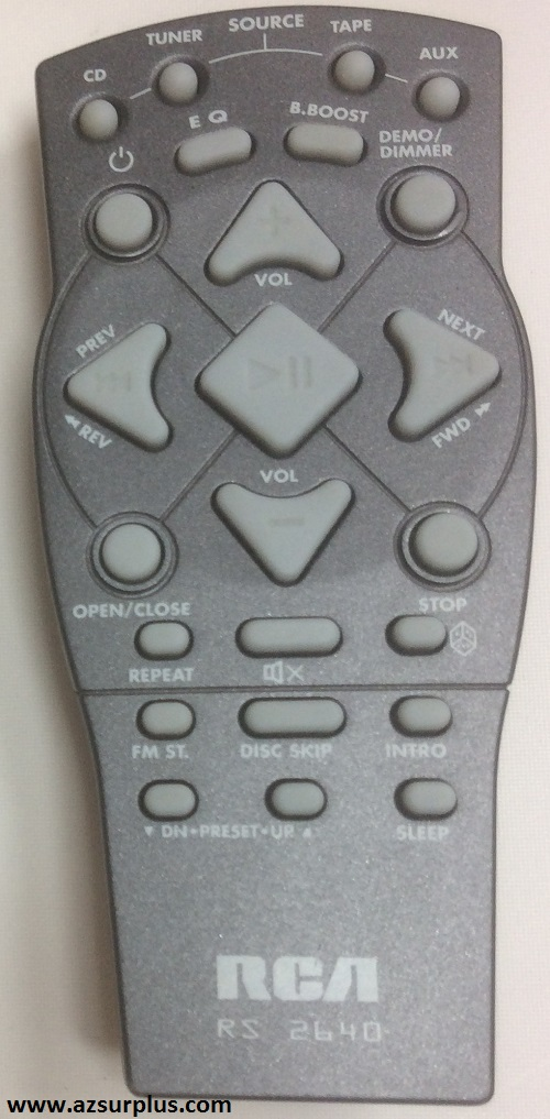 RCA RS2640 wireless Home Audio Remote Used Used, Great conditio
