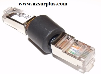 RJ45 to RJ45 Male 8Pin to Male 8Pins cable distortion reducer