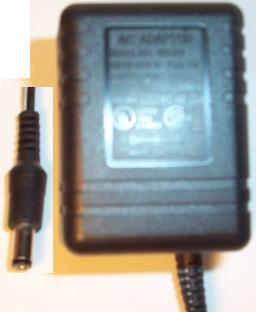 ANOMA AEC-N35121 AC ADAPTER 12VDC 300mA USED -(+) 2x5.5mm ROUND