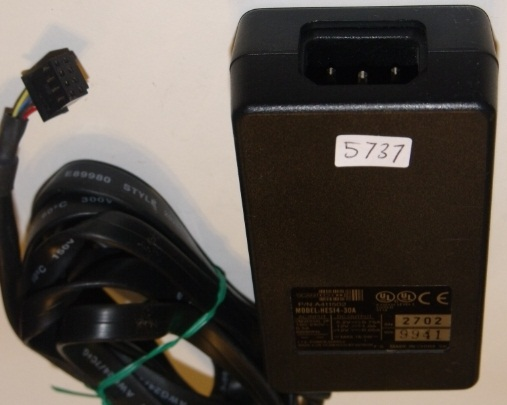 SCANTECH HES14-30A AC ADAPTER 5.2VDC 0.75A 12VDC 1A -12VDC 0.05A