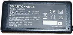 SMARTCHARGE PA-1700-02 AC ADAPTER 20VDC 4.5A USED 1x5.6x7.7x12.3