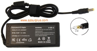 Replacement ST-C-075-12000600CT AC ADAPTER 12VDC 4.5-6A -(+) 2.5
