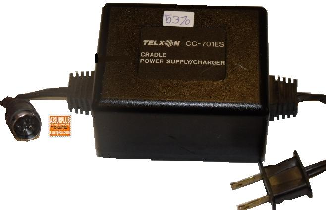 TELXON CC-701ES AC ADAPTER 10VAC 40A 6Pin POWER SUPPLY CHARGER