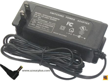 Technology GFP241DA-0930EW AC Adapter 9.5VDC 3A SWITCHING Power