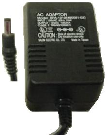 UMAX SPA-1210 AC adapter 12VDC 1A 490081-03 Power Supply Scaner