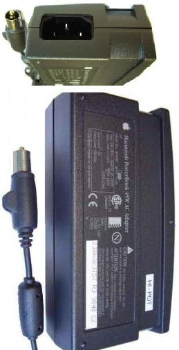 APPLE M4896 AC DC Adapter 24V 1.87A Power Supply Apple G3 1400c