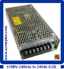 B&J S-145-24 145W 24VDC 6.5A New Regulated Switching Power Suppl