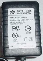 ENG EPAS-101WU-05 AC ADAPTER 5VDC 2A SWITCH-MODE POWER SUPPLY 9 - Click Image to Close