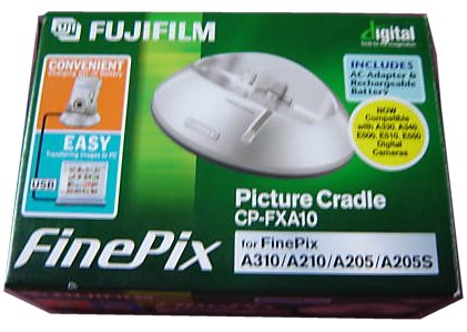 FUJI FUJIFILM CP-FXA10 PICTURE CRADLE FOR FINEPIX A310 A210 A205
