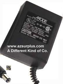 MODE DV-6500 AC ADAPTER 6VDC 500mA (+)- 2x5.5mm POWER SUPPLY 68-