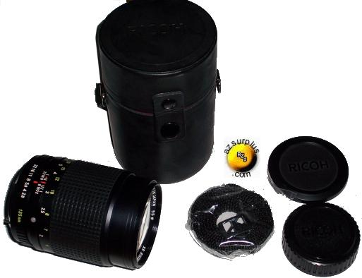 RICOH XR 135mm f/2.8 CAMERA LENS RIKENON Telephoto LENS