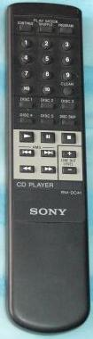 SONY M-DC41 CD PLAYER REMOTE CONTROL